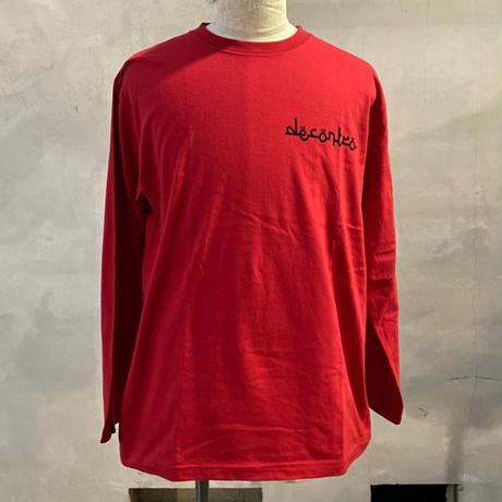 ALKDO / DECONTROL  LongT-shirts Red/Black