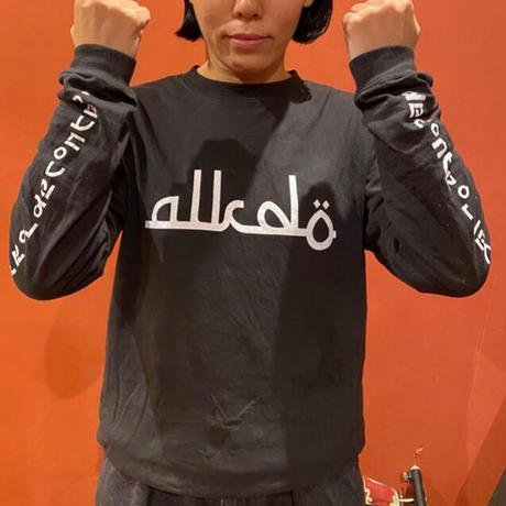 ALKDO / アラビックDECONTROL  LongT-shirts black