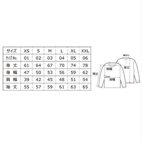 ALKDO/ハングルモドキ LongT-shirts White/Black