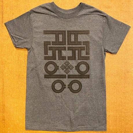 ALKDO ハングルモドキオリジナル  T-shirts  DG/ Black