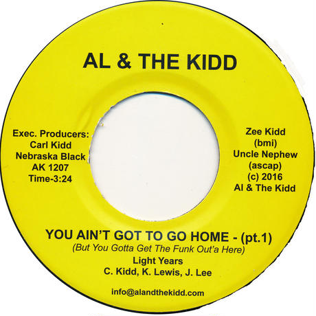 "[SG-045] (AK1207) Light Years - You Ain't Got To Go Home Part 1&2 (7"" Vinyl)"