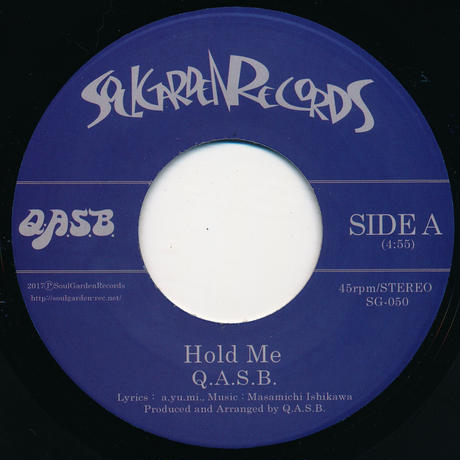 "[SG-050] Q.A.S.B. - Hold Me / You Make Me Feel (7"" Vinyl)"