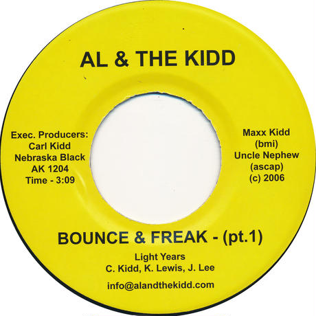 "[SG-044] (AK1204) Light Years - Bounce& Freak (With Me) Part 1&2 (7"" Vinyl)"