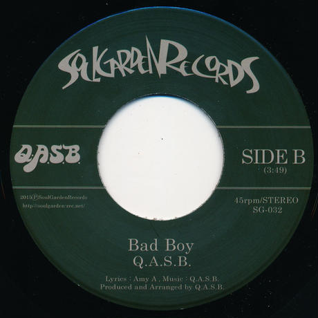 "[SG-032] Q.A.S.B. - Good Guy / Bad Boy (7"" Vinyl)"