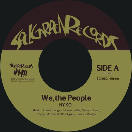 "[SG-062] NY.KO - We, the People / Free Yourself (7"")"