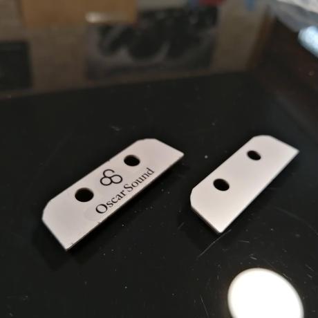 OSCAR BLADE オスカーブレード オーディオアクセサリ 2枚セット