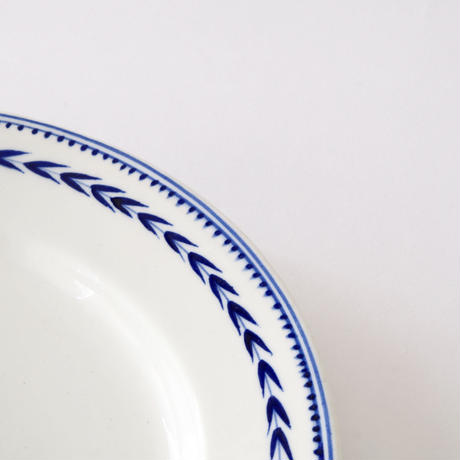 [TOURNAI] 麦の穂柄皿   (PL94)    1枚