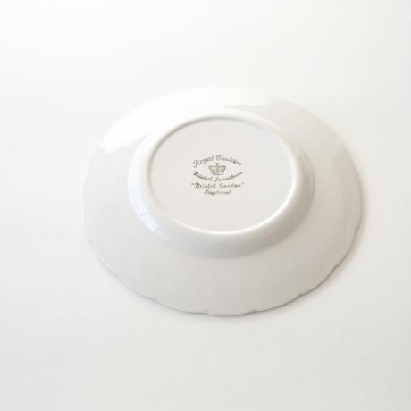 レリーフデザート皿   (PL74)    1枚