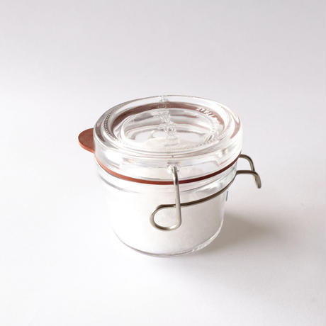 自然塩(250g)+ガラス保存瓶(125ml)