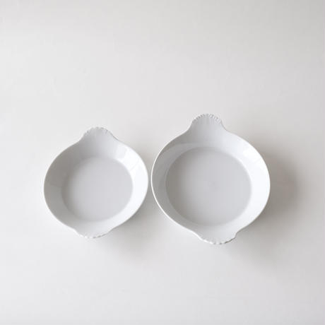 [APILCO] 耳付きラウンドディッシュ 直径17,5cm   1枚
