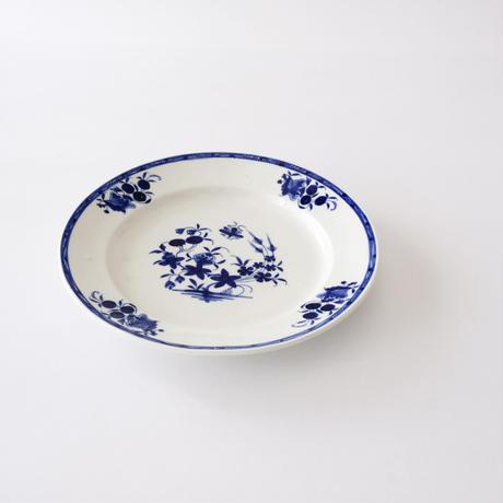 [TOURNAI] 実と花柄皿   (PL93)    1枚
