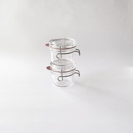[Luigi Bormioli] ガラス保存瓶  125ml    1個