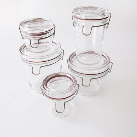 [Luigi Bormioli]   ガラス保存瓶 750ml    1個