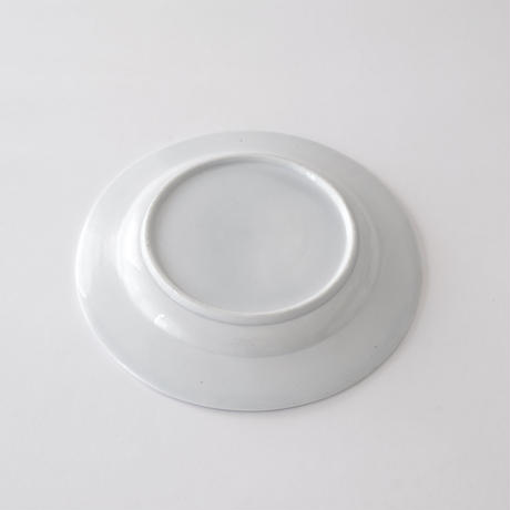 [TOURNAI] リングと羽柄皿   (PL90)    1枚