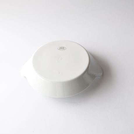 [APILCO] 耳付きラウンドディッシュ直径20cm   1枚