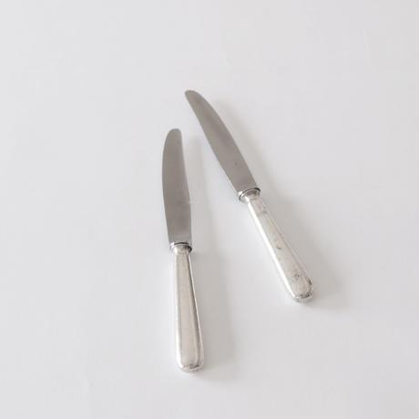 シルバーハンドル デザートナイフ   (DK39)    1本