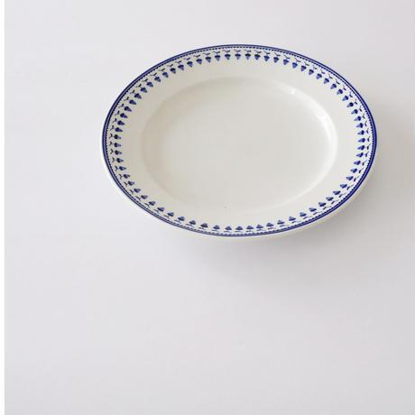 [TOURNAI] どんぐり柄皿   (PL92)    1枚