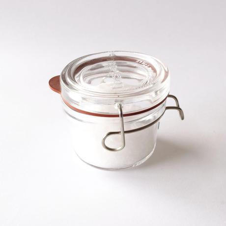 自然塩(125g)+ガラス保存瓶(125ml)