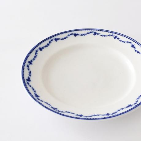 [TOURNAI] ローリエの花柄皿   (PL91)    1枚