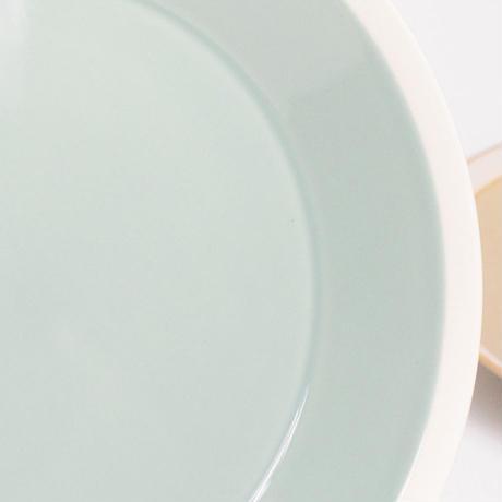 """イイホシユミコ×木村硝子店""""dishes plate180(fog gray)"""""""