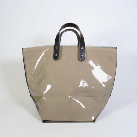 """TEMBEA(テンベア)""""DELIVERY TOTE PVC / デリバリートート M(BLACK/NATURAL)"""""""