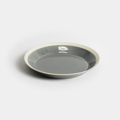 """yumiko iihoshi porcelain×木村硝子店""""dishes plate180(fog gray)"""""""