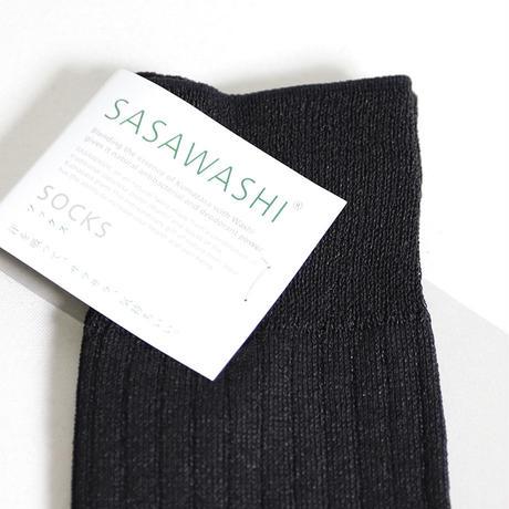 """SASAWASHI(ササワシ)""""メンズリブ靴下 M(24~26cm)"""""""