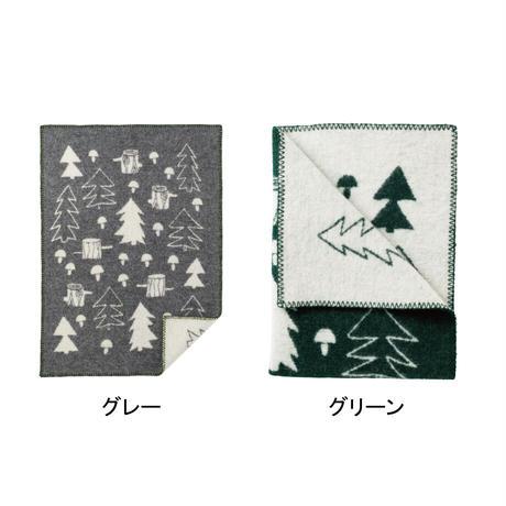 "KLIPPAN""ウールブランケット ミニ / マッシュルーム(グリーン)"""