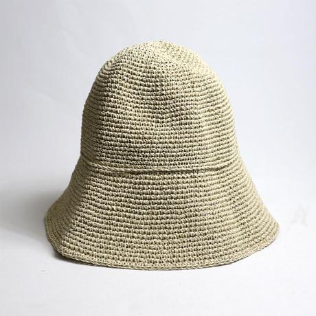 "SASAWASHI(ササワシ)""手編み帽子 56~58cm (ベージュ)"""
