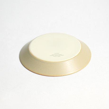 """イイホシユミコ×木村硝子店""""dishes plate180(sand beige)"""""""