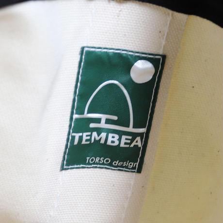 "TEMBEA(テンベア)""TOTE BAG / トートバッグ M(NATURAL/BLACK)"""