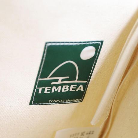 """TEMBEA(テンベア)""""BAGUETTE TOTE PVC / バゲットトート(透明/NATURAL)"""""""