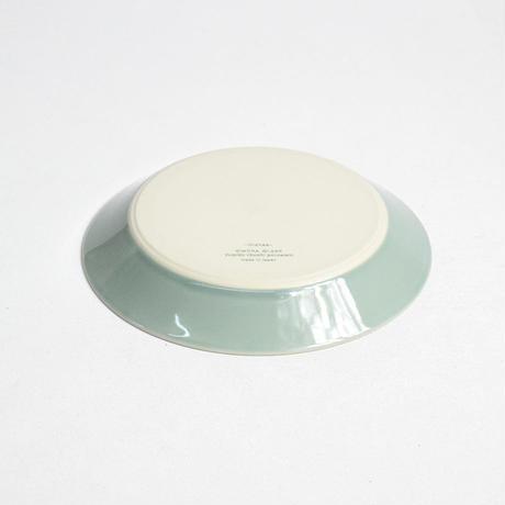 """イイホシユミコ×木村硝子店""""dishes plate180(pistachio green)"""""""