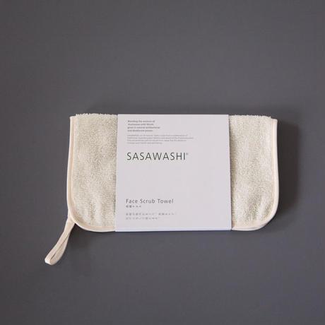 """SASAWASHI(ササワシ) """"洗顔タオル """""""