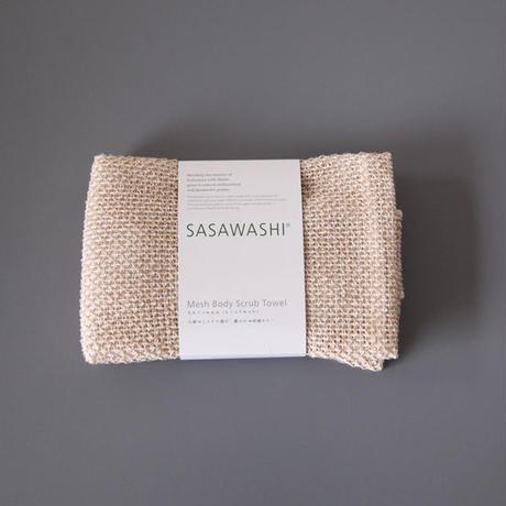 """SASAWASHI(ササワシ) """"ボディタオル(メッシュタイプ) """""""