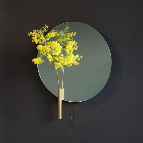 "REINE(レーヌ)""float mirror ROUND S(20cm)/ フロートミラー ラウンド S """