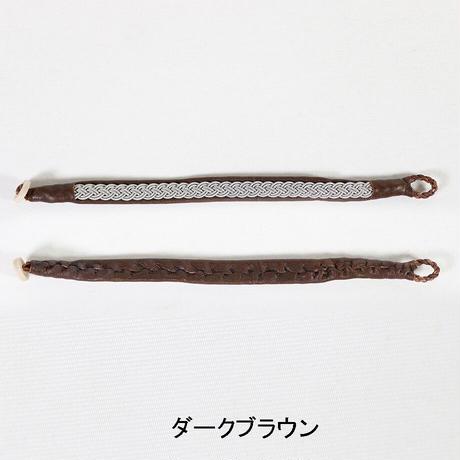"""Stefan Paulsson(ステファン ポールソン)""""Lapland Bracelet / ラップランドブレスレットDBR(LB01)18cm"""""""