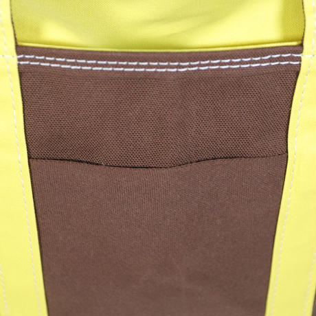 "TEMBEA(テンベア)""TOTE BAG / トートバッグ S(BROWN/YELLOW)"""