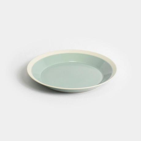 "yumiko iihoshi porcelain×木村硝子店""dishes plate180(pistachio green)"""