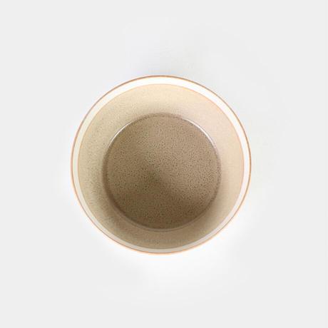 """イイホシユミコ×木村硝子店""""dishes bowl S(sand beige)"""""""