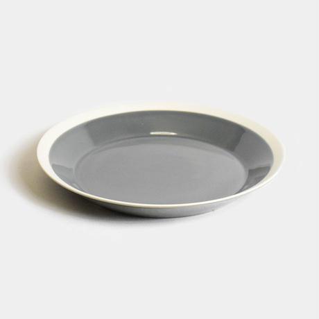 """yumiko iihoshi porcelain×木村硝子店""""dishes plate220(fog gray)"""""""