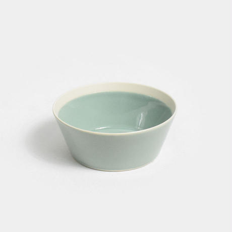 "yumiko iihoshi porcelain×木村硝子店""dishes bowl S(pistachio green)"""