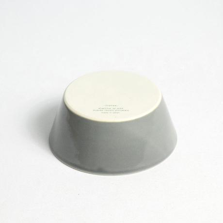 """イイホシユミコ×木村硝子店""""dishes bowl S(fog gray)"""""""