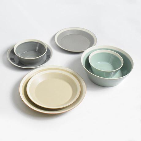 """イイホシユミコ×木村硝子店""""dishes plate220(fog gray)"""""""
