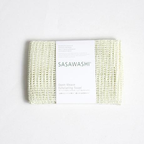 """SASAWASHI(ササワシ)""""メッシュボディタオル(しっかりタイプ)"""""""