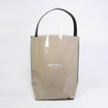 """TEMBEA(テンベア)""""BAGUETTE TOTE PVC / バゲットトート(BLACK/NATURAL)"""""""