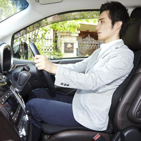 p!nto driver ドライバーのための姿勢改善クッション(Black)