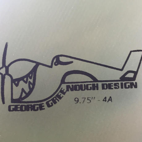 "[ TRUE ARMS ] GREENOUGH 4A FIN 9.75"" (¥9,500+tax)"