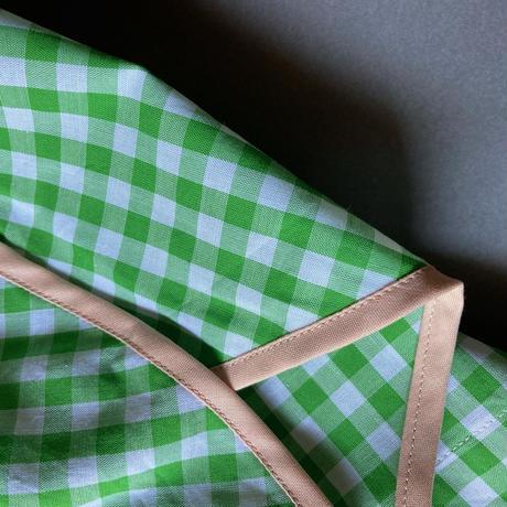 ライトグリーン×ピンクベージュ Lサイズ
