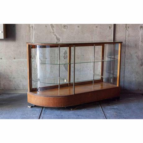 木枠Rガラスショーケース